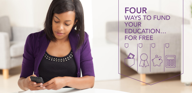fund your education for free with grants and scholarships