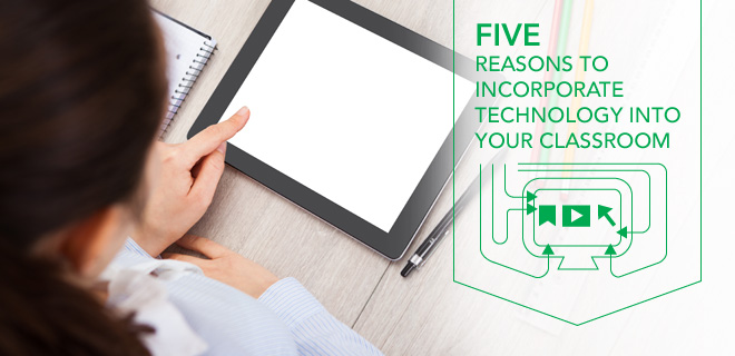 the benefits of incorporating technology inside the classroom The perceived effects of reform-based technology use on students and classroom practices are discussed.