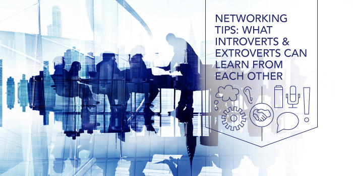 introverts and extroverts networking success