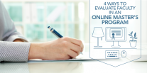 online faculty evaluation Faculty self-assessment: preparing for online teaching after completing the questionnaire, you will receive a detailed evaluation of your readiness to teach online.