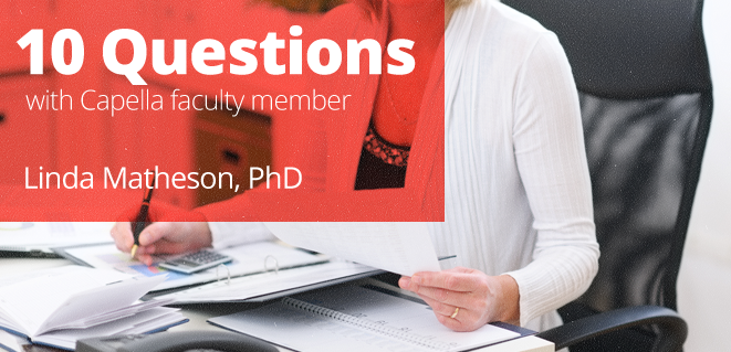 interview with dr. linda matheson, online nursing programs faculty at Capella