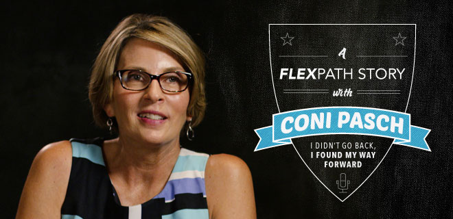 Coni Pasch earned her bachelor's degree through FlexPath