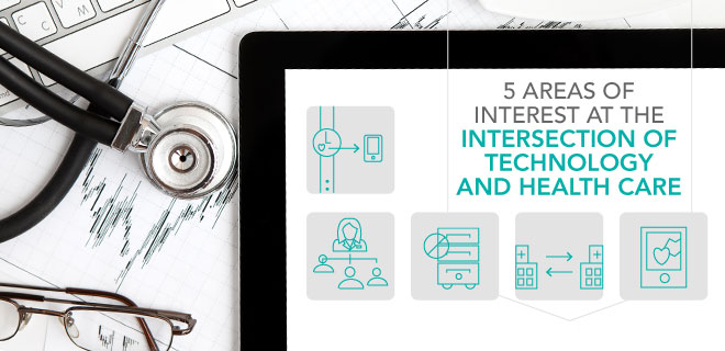5 trends at intersection of health information technology and health care