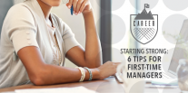 Starting Strong: 6 Tips for First-Time Managers
