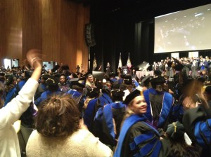 Capella's commencement ceremony in Long Beach, Calif.