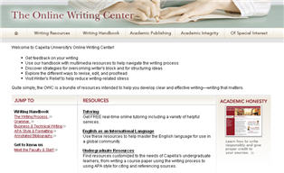 Online Writing Center