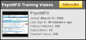 psycinfo-training