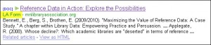 Example of incorrect author attribution in Google Scholar