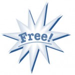 "Image showing word ""Free"""