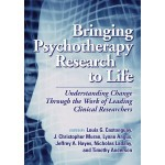 Cover image of book: Brining Psychotherapy Research to Life