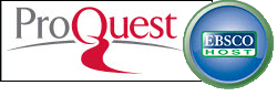 ProQuest and Ebsco logos