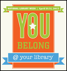 National Library Week 2012 logo