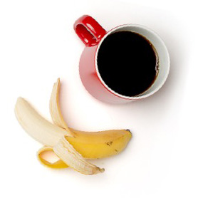 coffee banana mobile